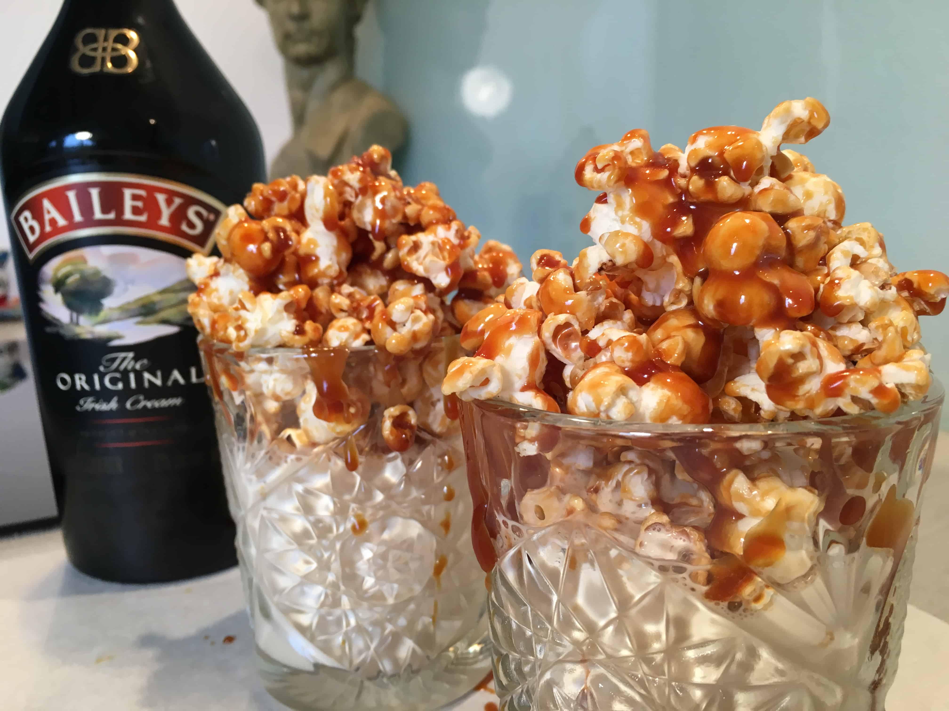 Baileys Milkshake Popcorn Caramel