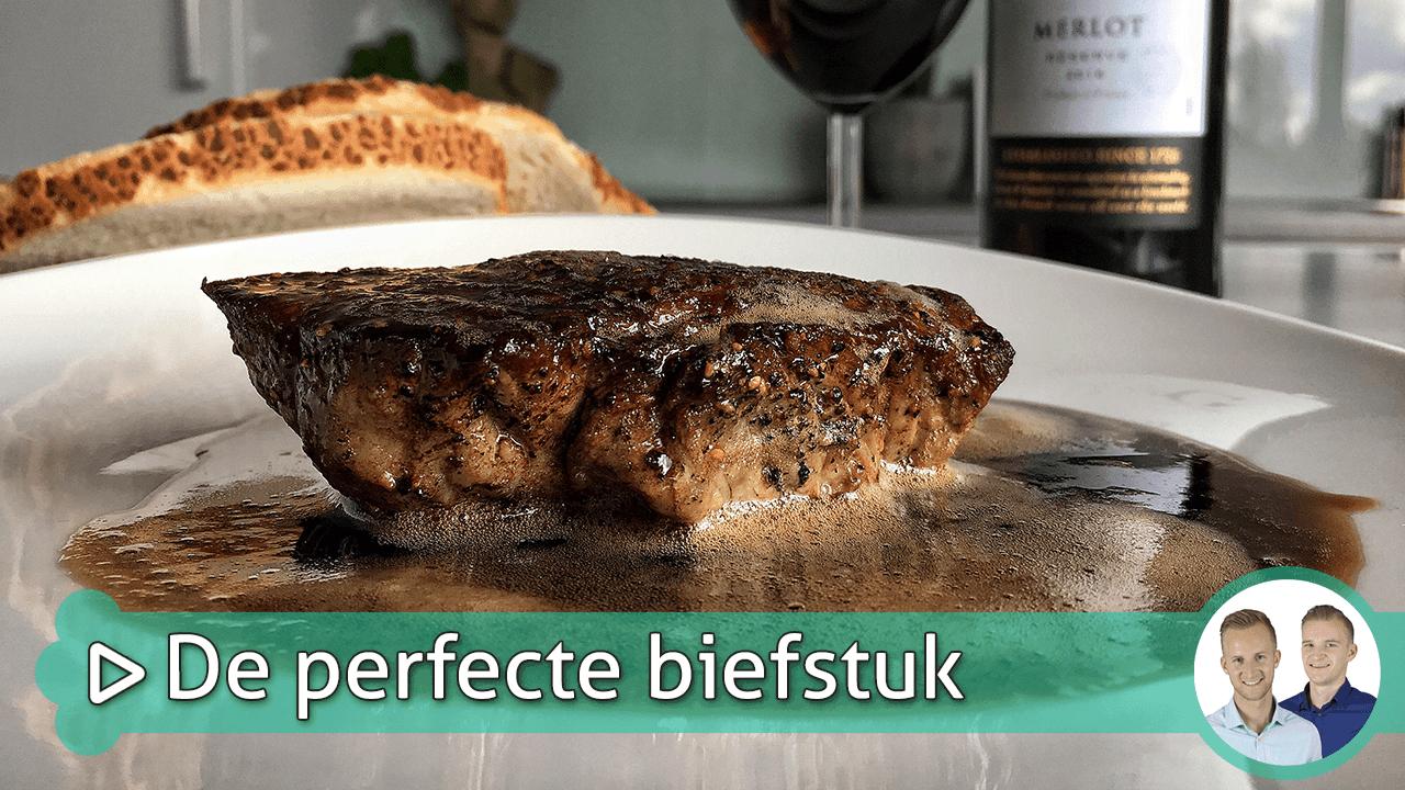 de perfecte biefstuk bakken