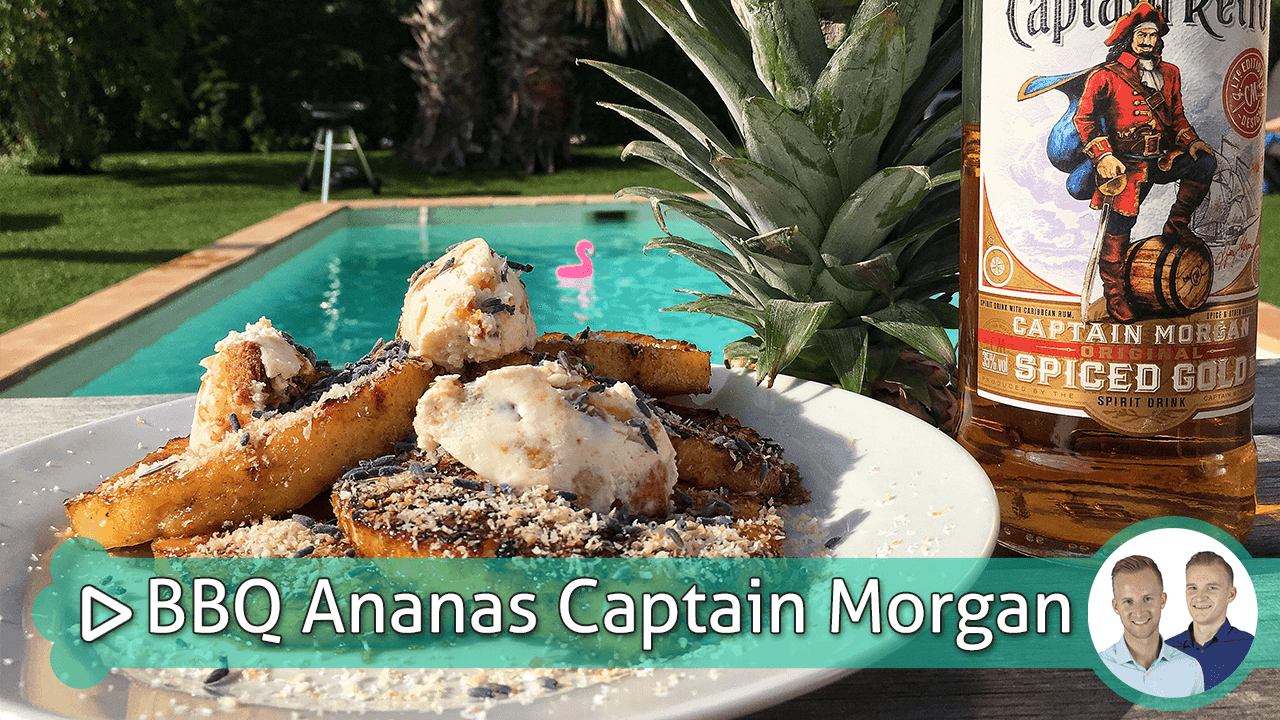 bbq ananas captain morgan