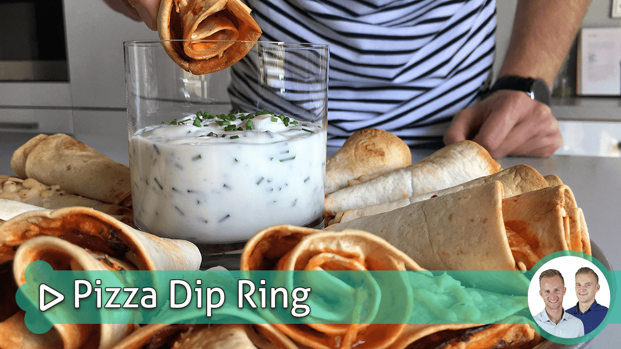 pizza dip ring