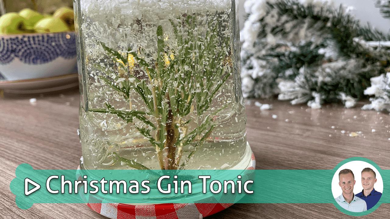 christmas gin tonic